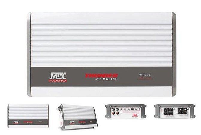 Amplificador WET75.4 Class d Marine 800W
