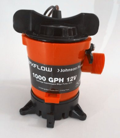 Bomba De Porão Johnson Pump 1000GPH 12V Marinizada JOH-32101-003