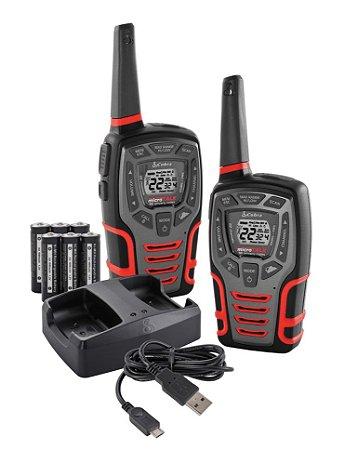 Rádio Walkie Talkies Cobra 28 milhas CXT545
