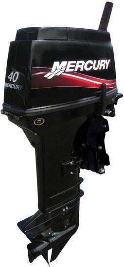 Motor Manual 40HP 2 Tempos Mercury