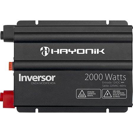 Inversor 2000W 12VDC/220V Onda Seinoidal Modificada GD