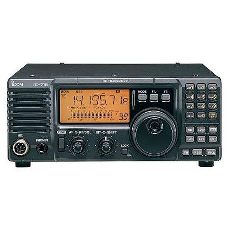 Rádio Transceptor Multibanda de HF Icom IC-718