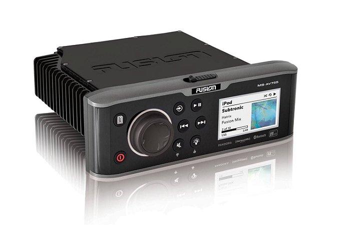 Media Player Marinizado Fusion MS-AV755 CD/DVD Bluetooth USB