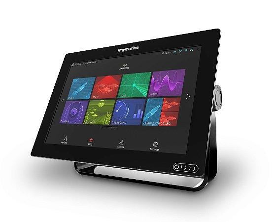 GPS Sonar RayMarine Axiom 12 Carta Náutica + Transducer