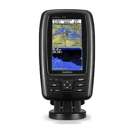GPS Sonar Garmin ECHOPMAP PLUS 42cv com Transdutor GT20-TM