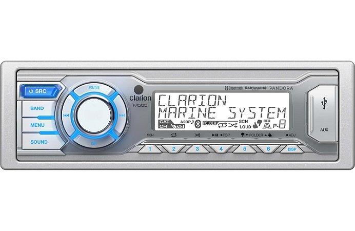 Media Player Marinizado Clarion M505 Bluetooth