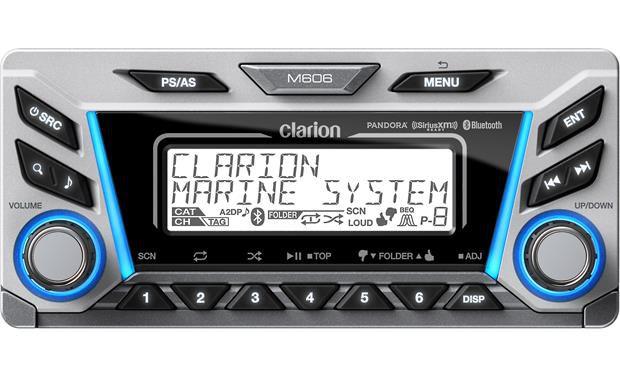 Media Player Marinizado Clarion M606 Bluetooth