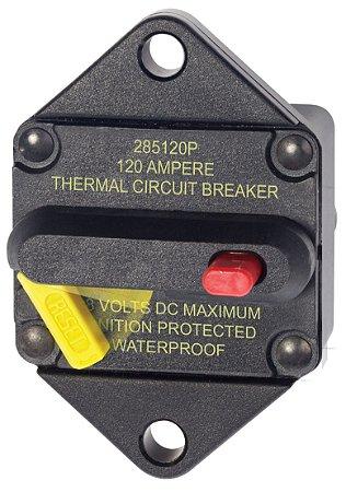 Disjuntor Térmico p/ Painel 120A Blue Sea 7088