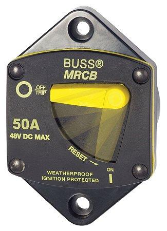 Disjuntor Térmico p/ Painel 50A Blue Sea 7039