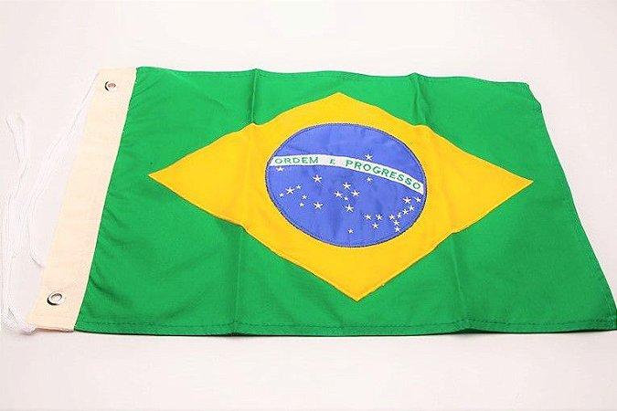 Bandeira Náutica Brasileira p/ Mastro de Popa Arieltek E1124