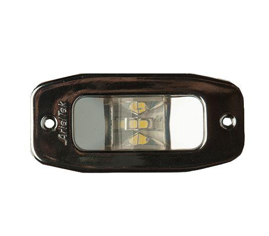 Luz de Popa Retangular Alcançado Cromado Arieltek E1149