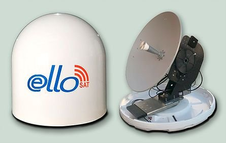 Antena de Internet Via Satélite Marítima Ello Sat