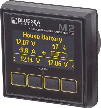 Monitor de Bateria M2 DC SoC Monitor Blue Sea 1830