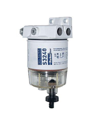 Filtro de Combustível c/ Suporte Racor 120R-RAC-01
