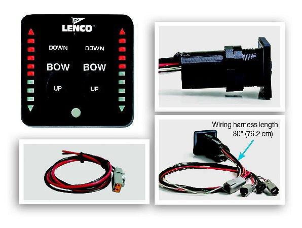 Comando do Flap c/ Indicador em LED Lenco 15170-001