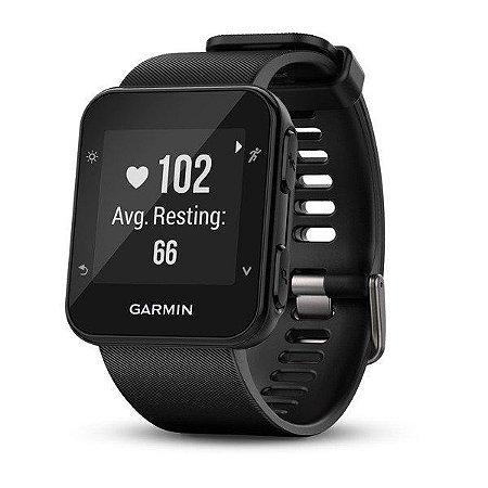 Relógio Monitor Cardíaco GPS Garmin Forerunner 35 Preto