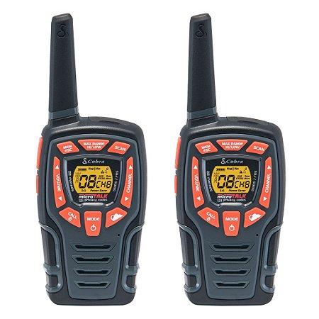 Radio Walkie Talk Cobra ACXT545 22 Canais 50Km