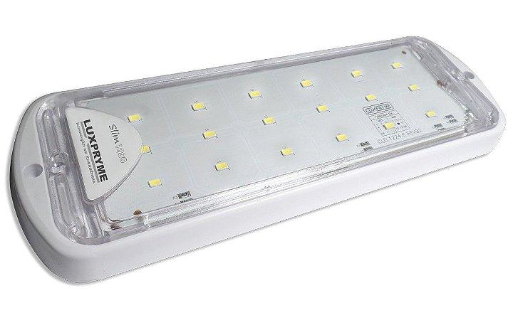 Luminária para Casa de Máquinas Slim em LED 1000 Lumens