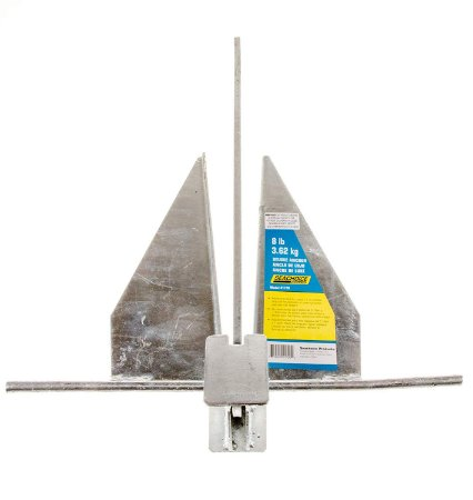 Âncora Danforth Galvanizada Seachoice 3,62KG S50-41720