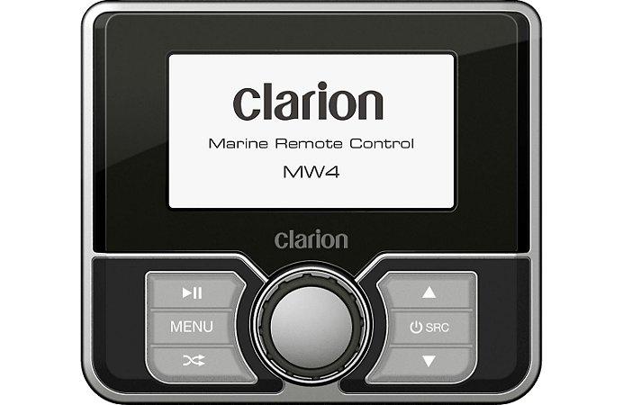 Controle Remoto Marinizado com Fio Clarion MW4 Colorido