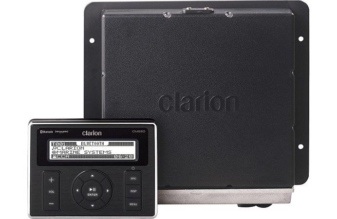 Player c/ Receiver Marinizado Clarion CMS20 Bluetooth