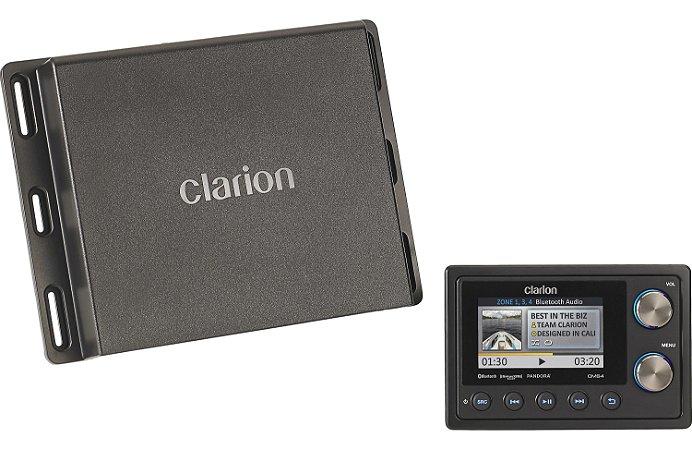 Player c/ Receiver Marinizado Clarion CMS4 Bluetooth