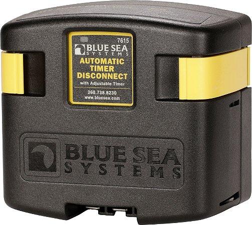 Relé de Carregamento Automático c/ Timer ATD Blue Sea 7615