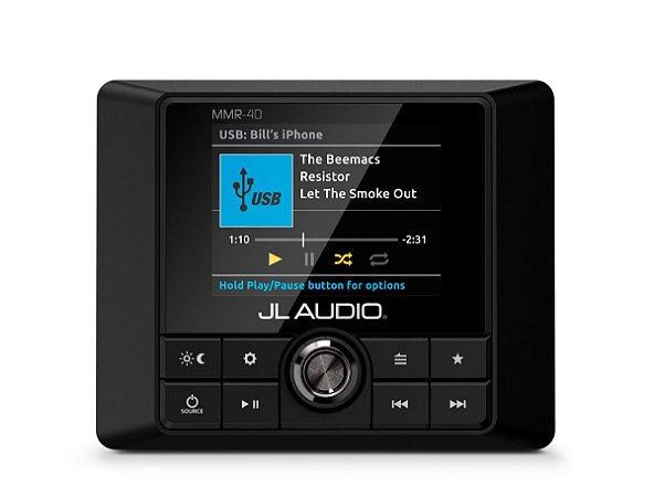 Controle Remoto Marinizado NMEA 2000 c/ Fio JL Audio MMR-40