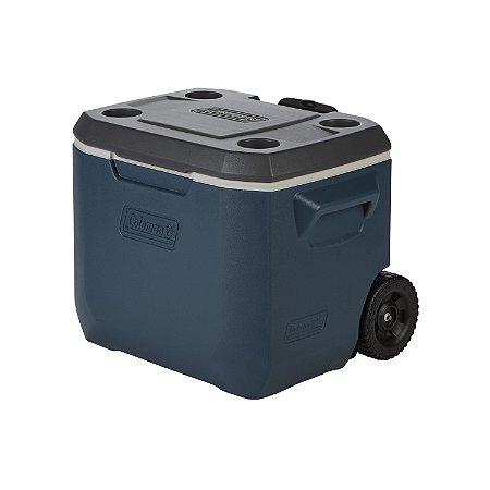 Caixa Térmica c/ Rodas 50QT Coleman Xtreme 5 47 Litros Azul