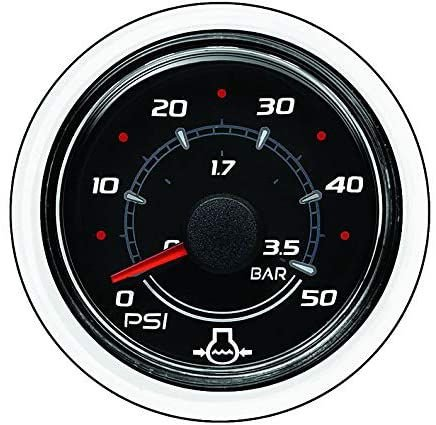 Relógio Indicador de Pressão da Água Mercury 0-100 PSI 8M0052850