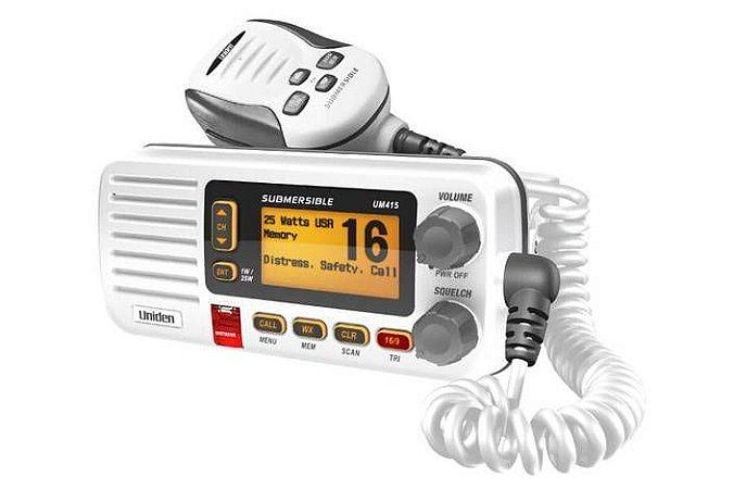 Rádio VHF Marítimo Uniden DSC Oceanus D UM415
