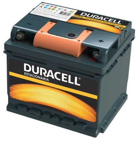Bateria Estacionária 50A Duracell 12TE45 C100 12V