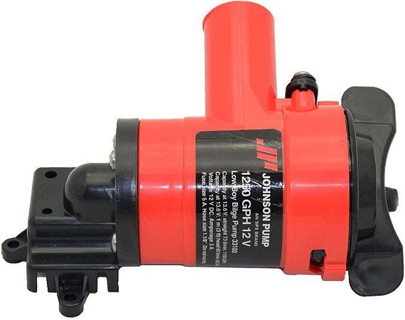 Bomba de Porão 1250GPH Johnson Pump Low Boy 12V