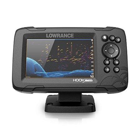 GPS Sonar Lowrance Hook Reveal 5x SplitShot c/ Transdutor