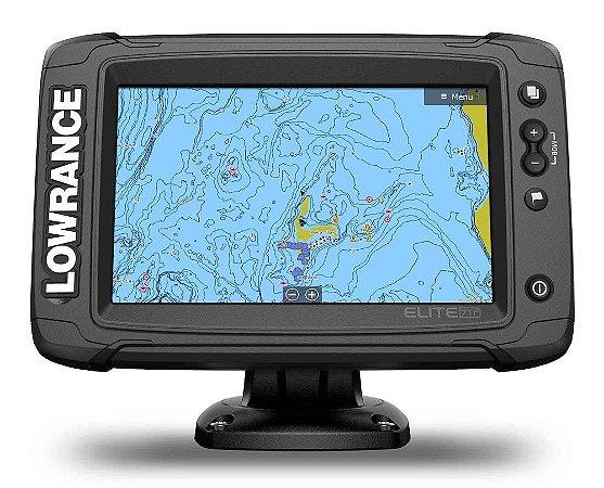 GPS Sonar Lowrance Elite-7 Ti2 c/ Transdutor HDI Skimmer