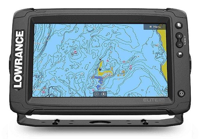 GPS Sonar Lowrance Elite-9 Ti2 9 Polegadas