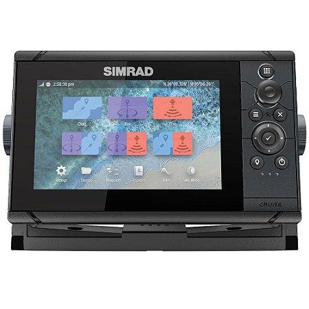GPS Sonar Simrad Cruise 7 ROW c/ Transdutor 83/200
