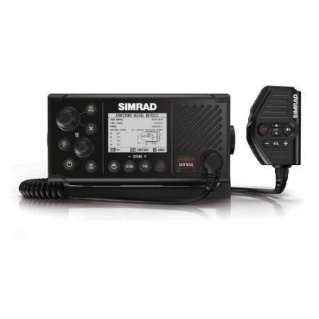 Rádio VHF AIS DSC Classe B Marinizado Simrad RS40-B