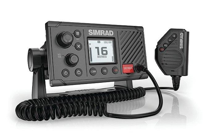 Rádio VHF Marinizado Classe D DSC Simrad RS20S