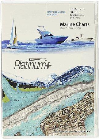 Carta Náutica Navionics Platinum+ Costa Leste 909P-2