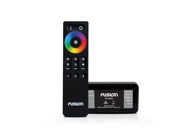 Controlador de Iluminação RGB Fusion MS-RGBRC c/ Controle