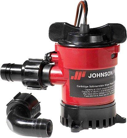 Bomba de Porão Johnson Pump 1000GPH 12V