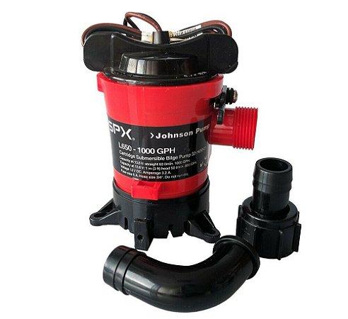 Bomba de Porão Johnson Pump L650 1000GPH 24V
