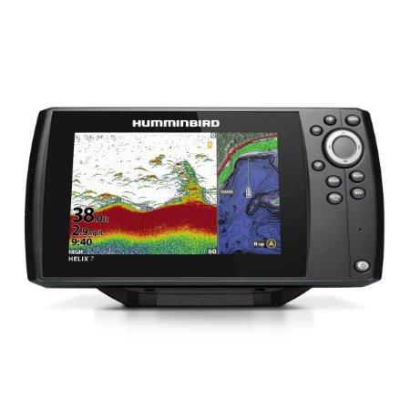 GPS Sonar Humminbird Helix 7 CHIRP GPS G3 Transdutor