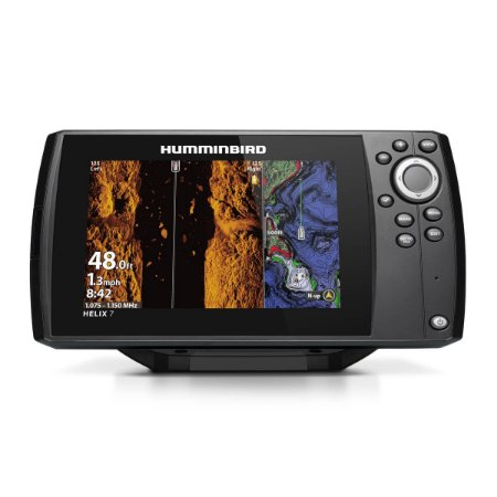 GPS Sonar Humminbird Helix 7 CHIRP MEGA SI GPS G3N c/ Trans.