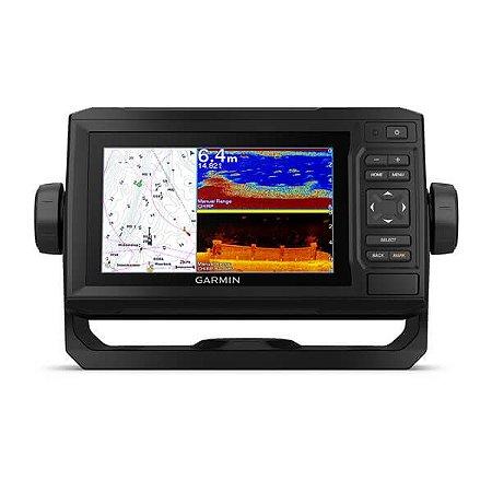 GPS Sonar Garmin ECHOMAP UHD 62cv c/ Transdutor GT24UHD-TM