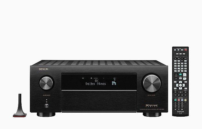 Receiver Denon Avr-x4700h 8k Audio 3d Wi-fi Bluetooth