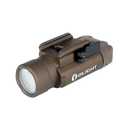 Lanterna Para Pistola Ambidestra Olight PL-PRO VALKYRIE TAN