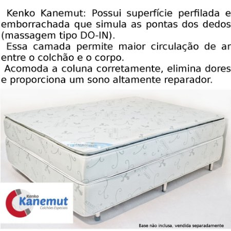 Kenko Kanemut Tradicional com Pillow Top
