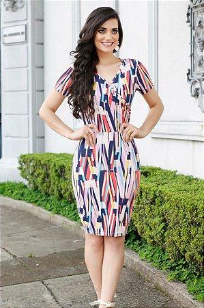 1a7b653c63d Vestido Edvânia Rosa - Enncante - Moda Evangélica